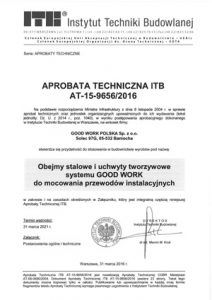 The Technical Approval of the ITB